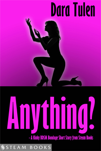 Anything?   by Dara Tulen   99 cents!