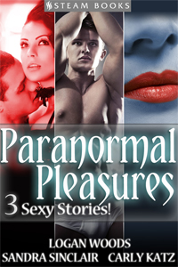 Paranormal Pleasures    Available Now!   Amazon ,  Barnes & Noble ,  iTunes ,  Kobo ,  All-Romance-Ebooks ,  Google-Play , and more!