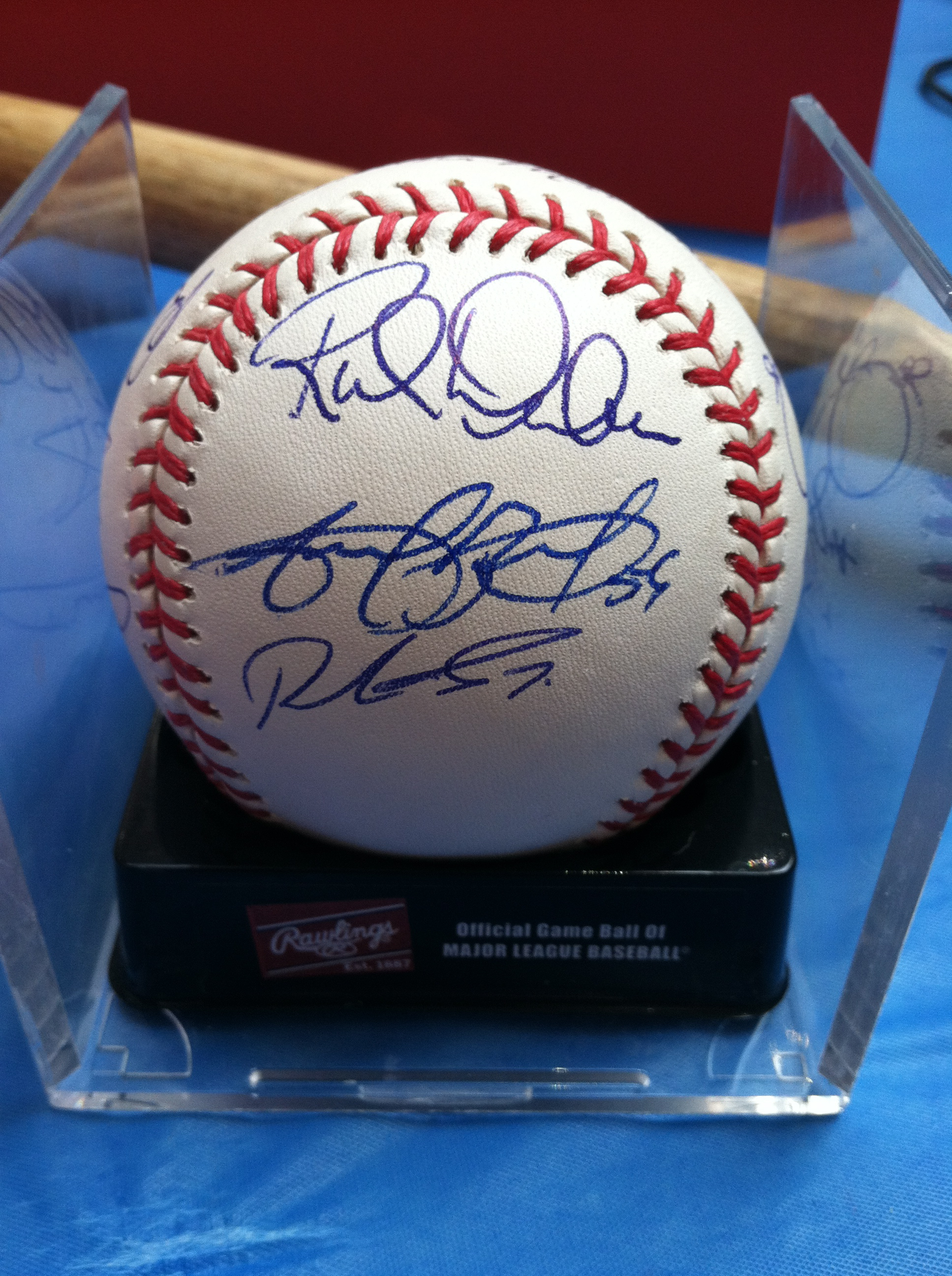 2009 Phillies Team Ball