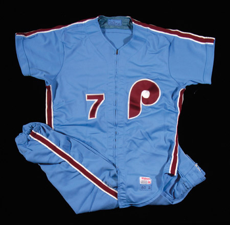Bobby Wine, 1980 Game Uniform