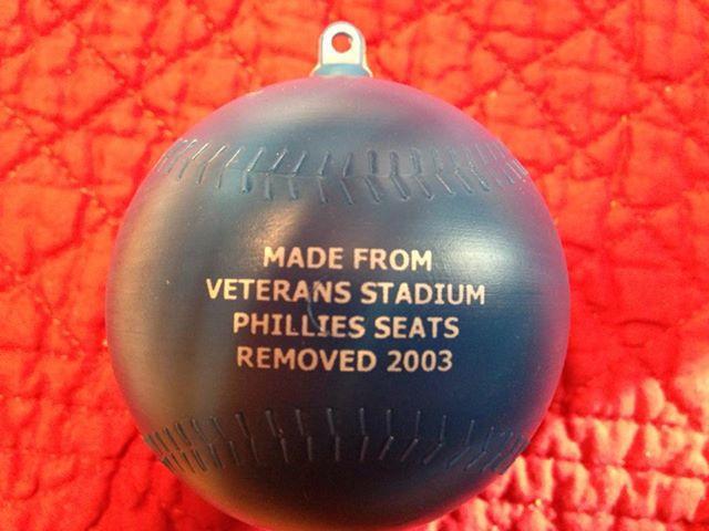 Vet Stadium Seat Ornament