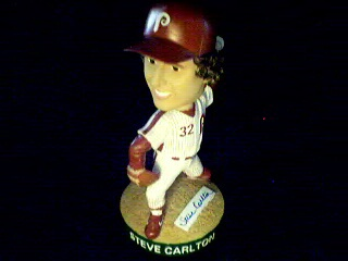 Steve Carlton Bobble Head - signed variation