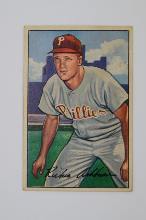 1952 Bowman, Richie Ashburn