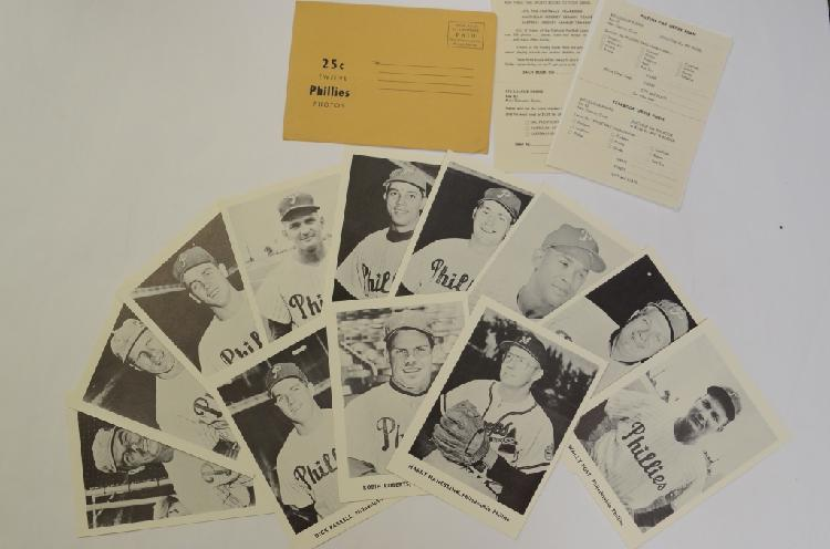1960 Phillies, Jay Publishing Photo Cards