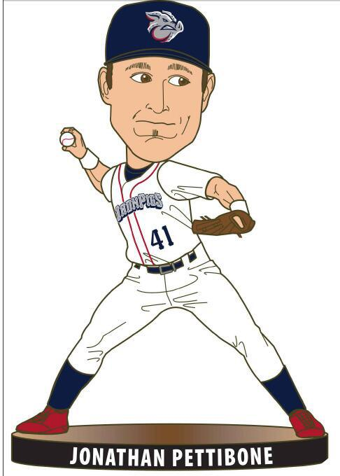 Jonathan Pettibone Bobblehead - April 10th