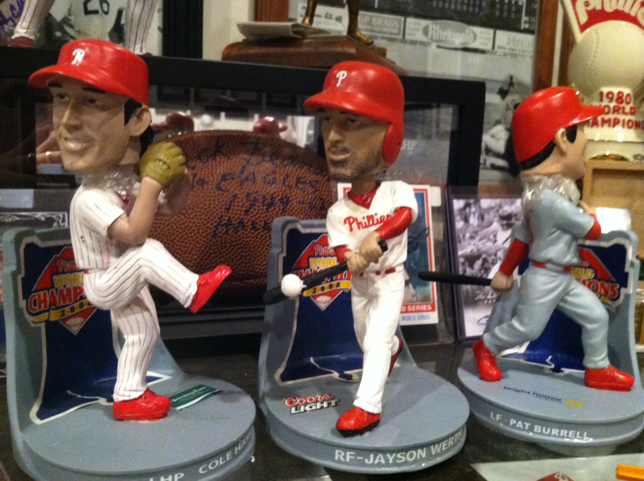 2009 Clearwater Threshers SGA Bobbles