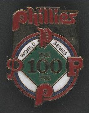Phillies 1983 World Series Press Pin