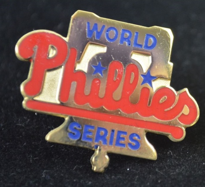 Phillies 1993 World Series Press Pin
