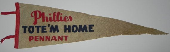 """""""Tote'm Home Pennant"""" Pennant"""