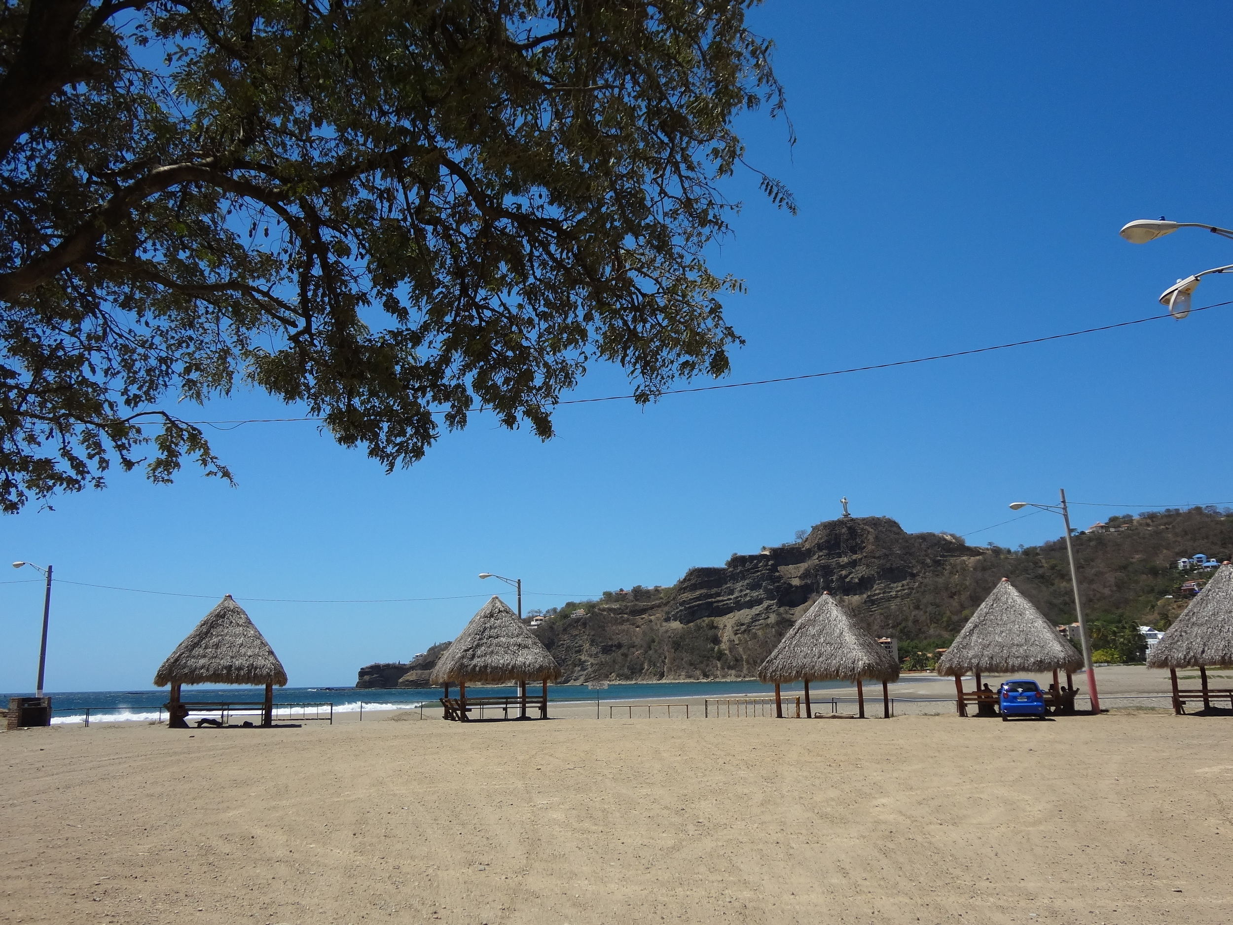 Thatch roofs are the look in Nicaragua.