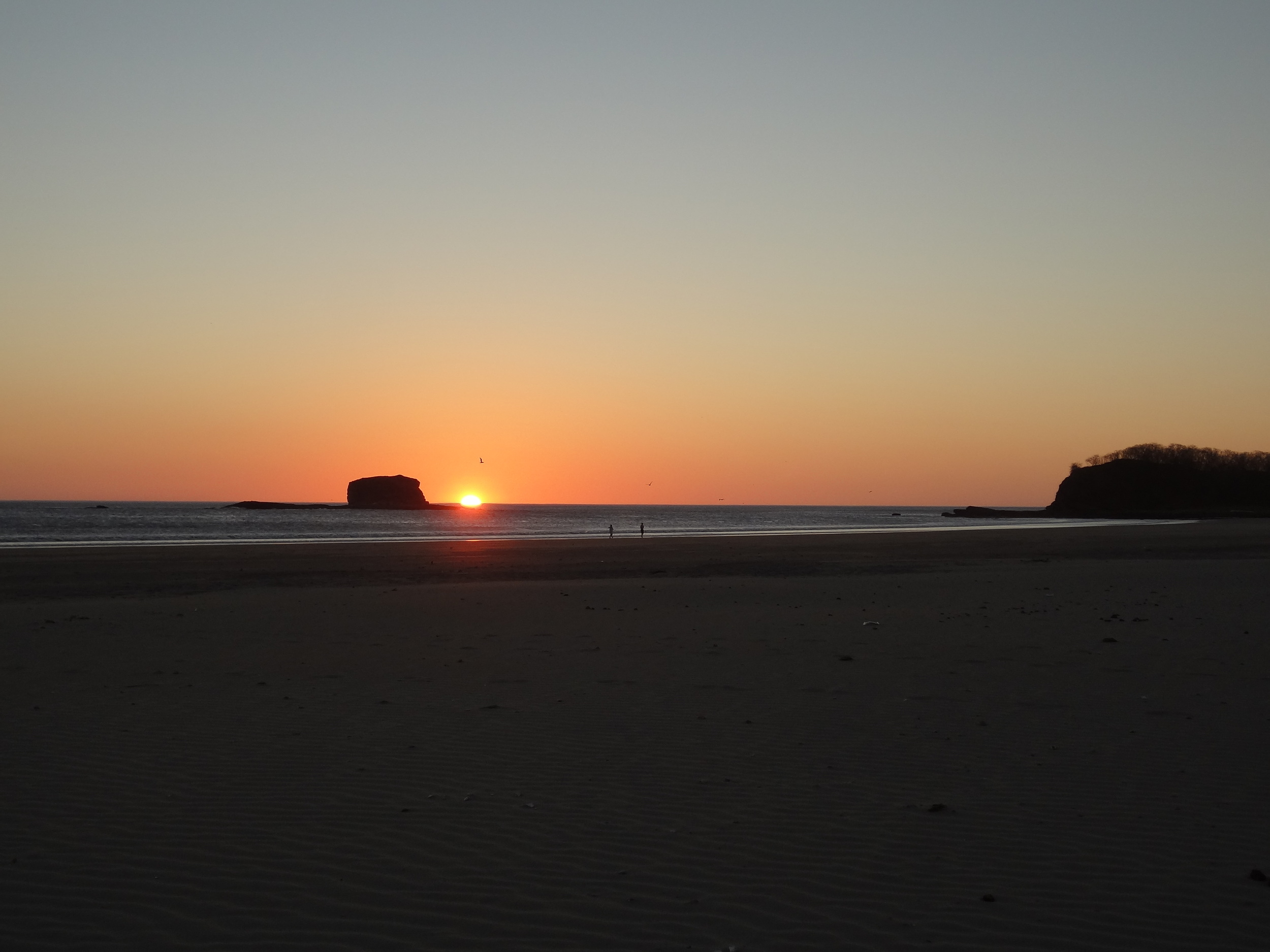 Always a great sunset at Playa Hermosa.
