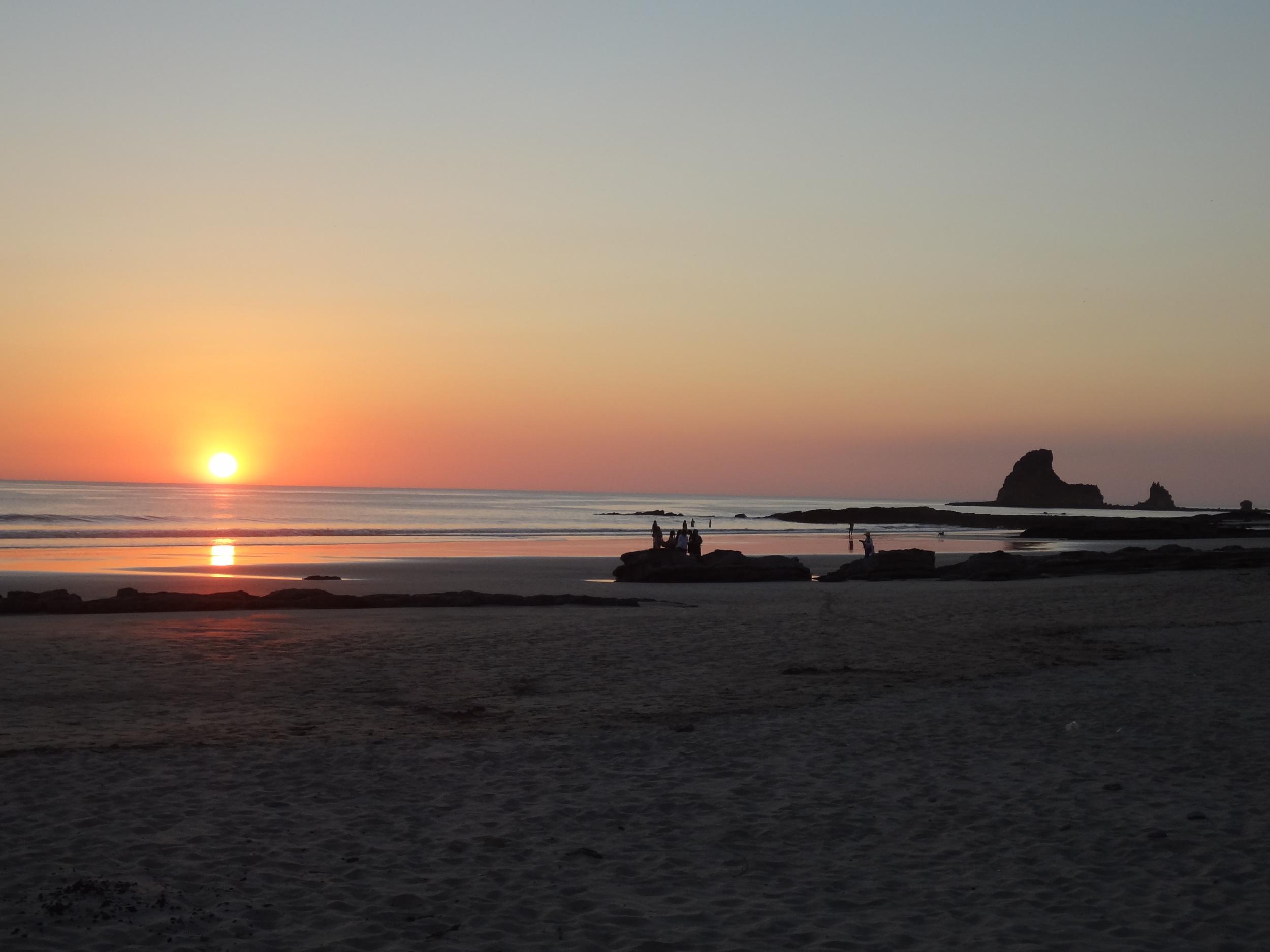 Aaaaah, Playa Maderas.
