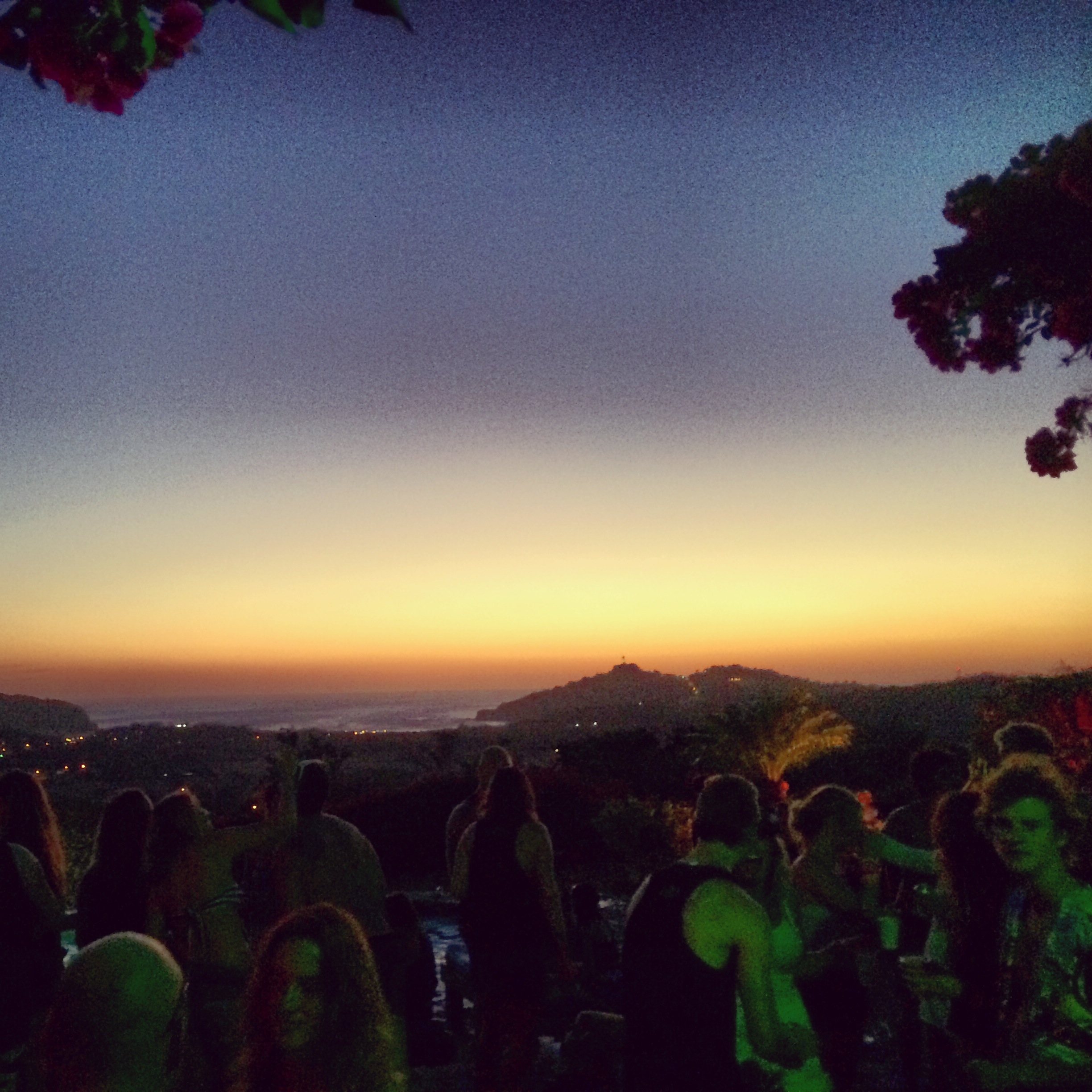 Sunset party for the infamous Sunday Funday.