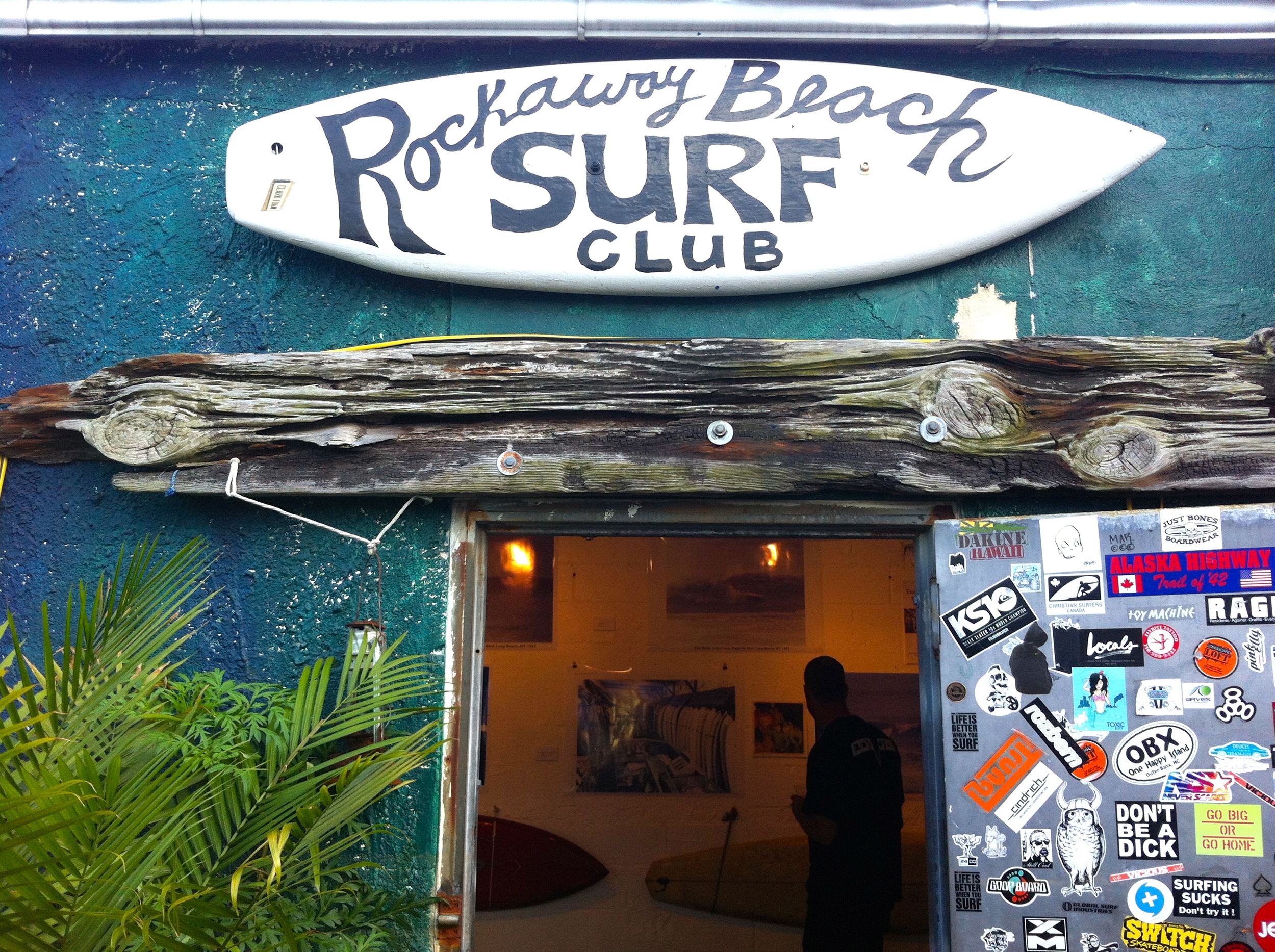 Rockaway Beach Surf Club   A place oozing with great vibes, The Surf Club is devoted to the love of surfing and is a staple in the local neighborhood. This is the perfect place to come after a lesson with indoor seating and a fantastic patio area. Not to mention, some of New York's best tacos! If you can't stop by after a lesson be sure to come to our 4th of JulyParty hosted hereor another one of our events in the future!