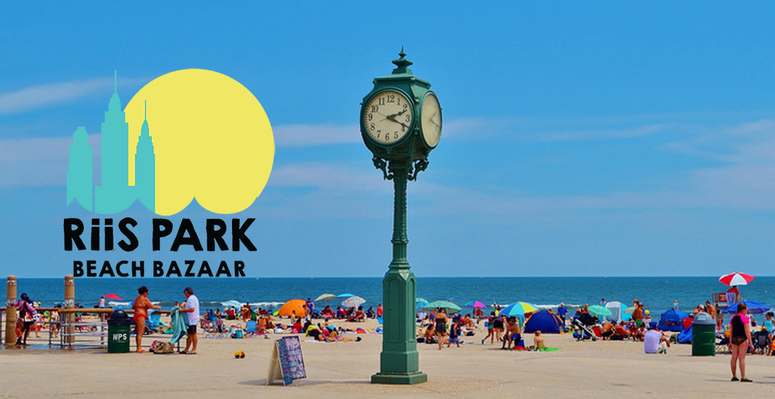 Riis Park Beach Bazaar    Riis Park is a beautiful beach located in upper Rockaway. The only downside about Riis Park Beach is that you can't surf there! This is a great place to check out after your lesson with tons of vendors set up on the weekends. Maybe you'll even see us there!