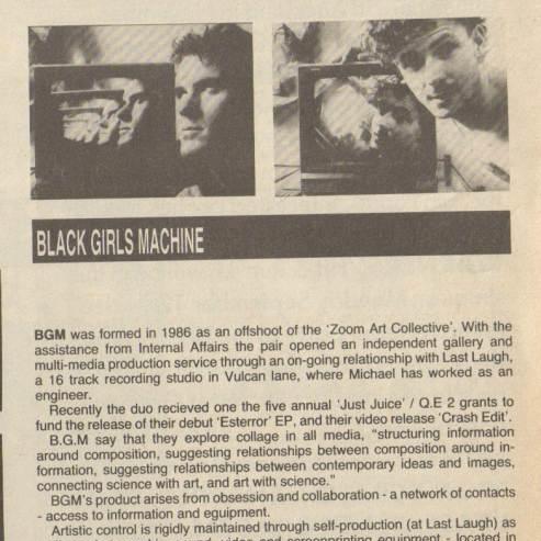 BLACK GIRLS MACHINE