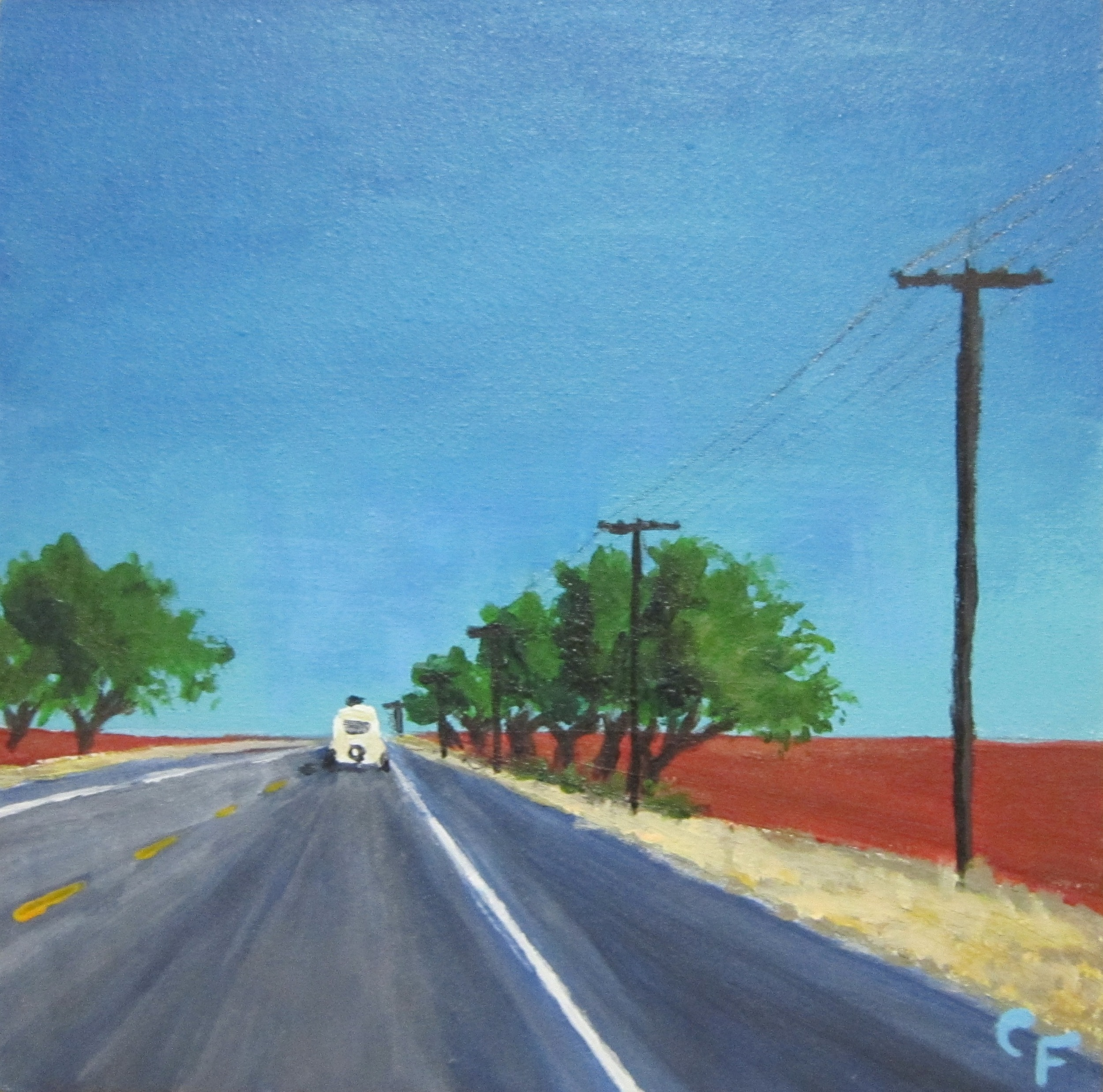 "West Texas Trailer - 5""x5"""