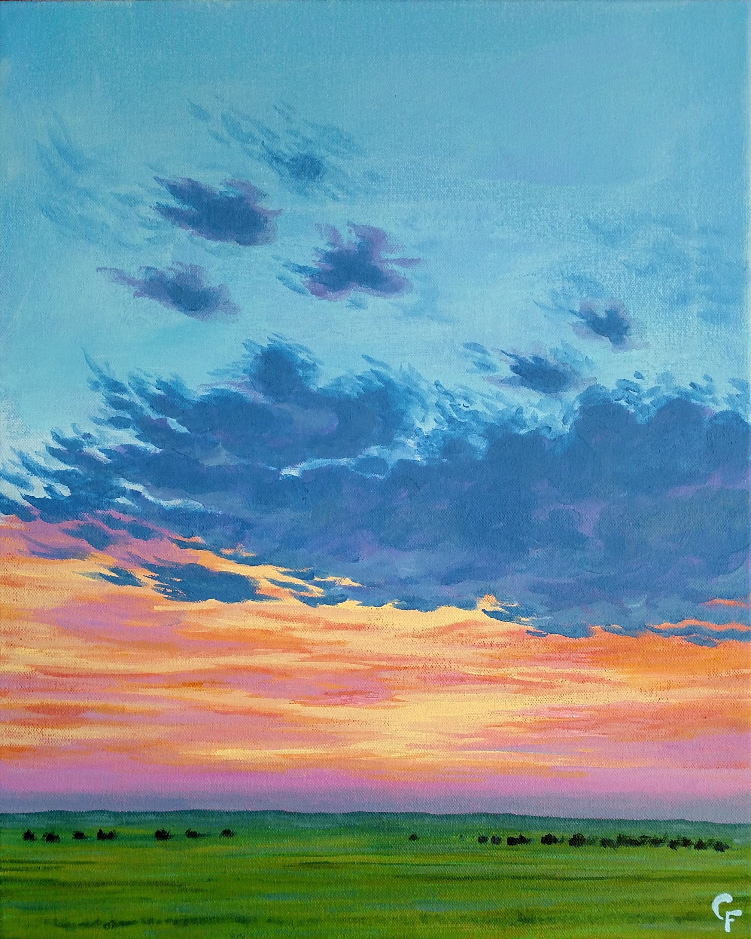 """Drummond Sunset - 16""""x20"""" - Available  here"""