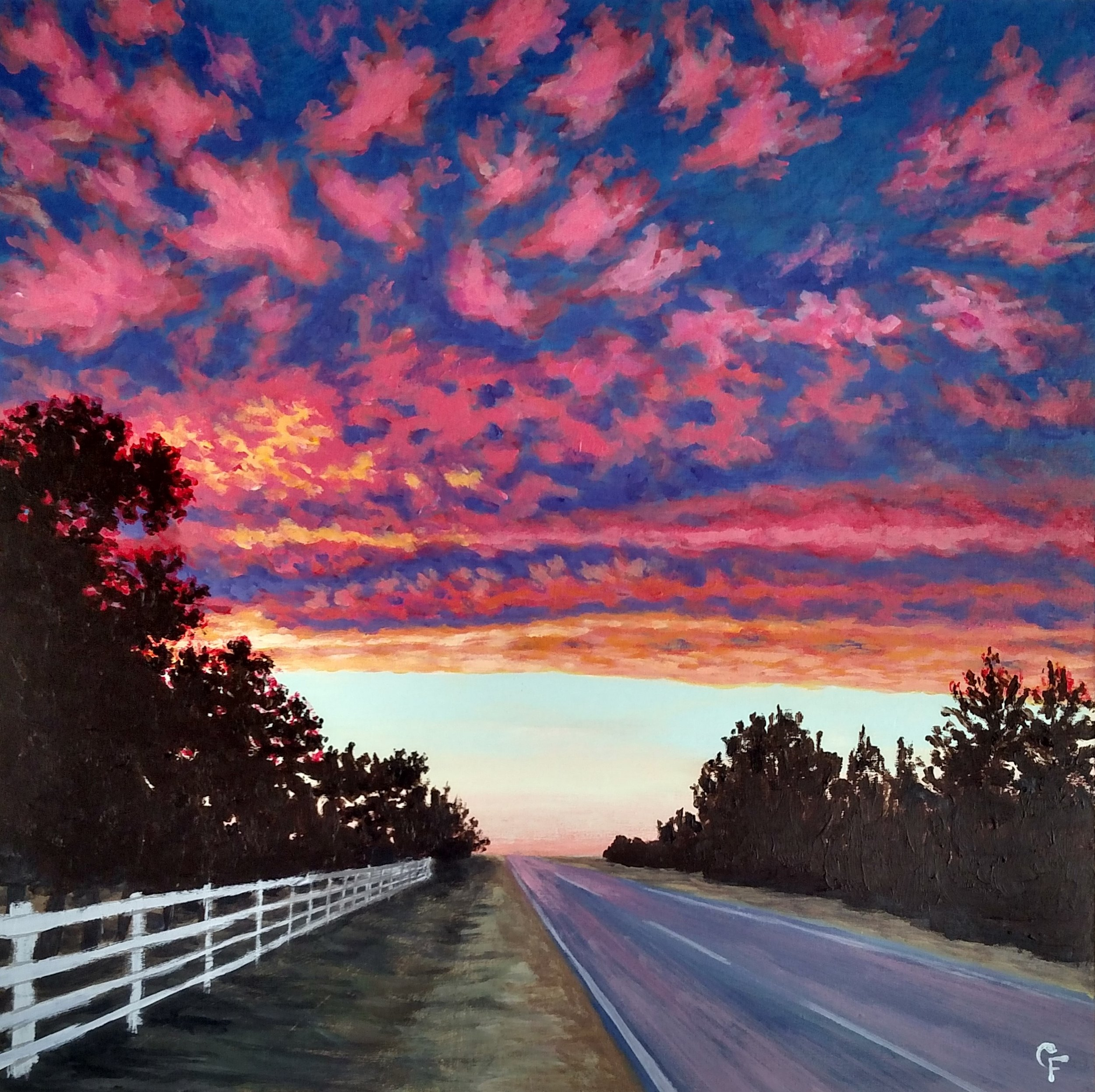 Enid December Sunset - Available  here