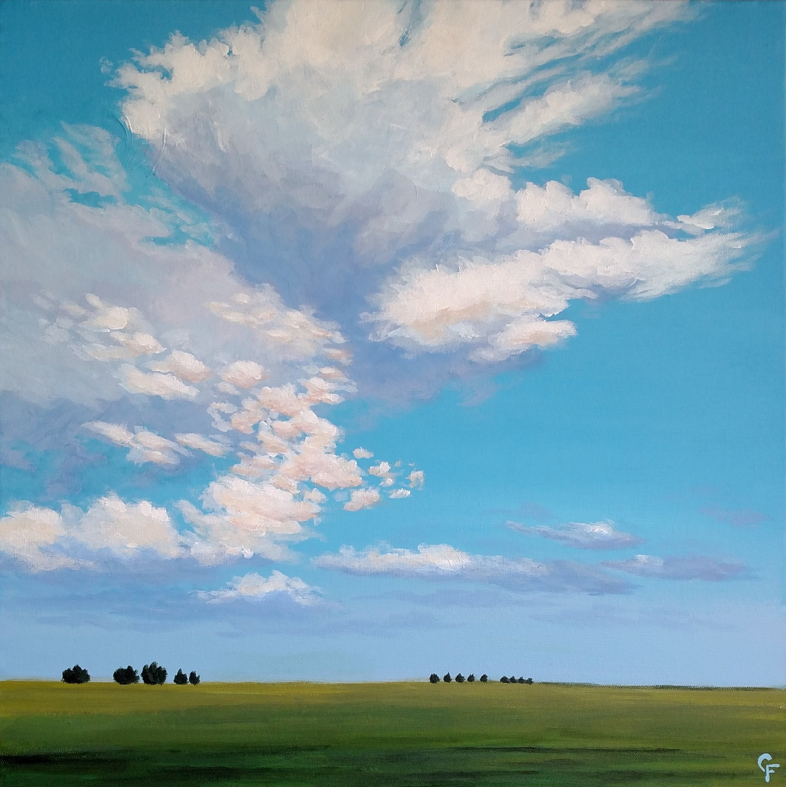 Late Summer Sky #2 - Available  here