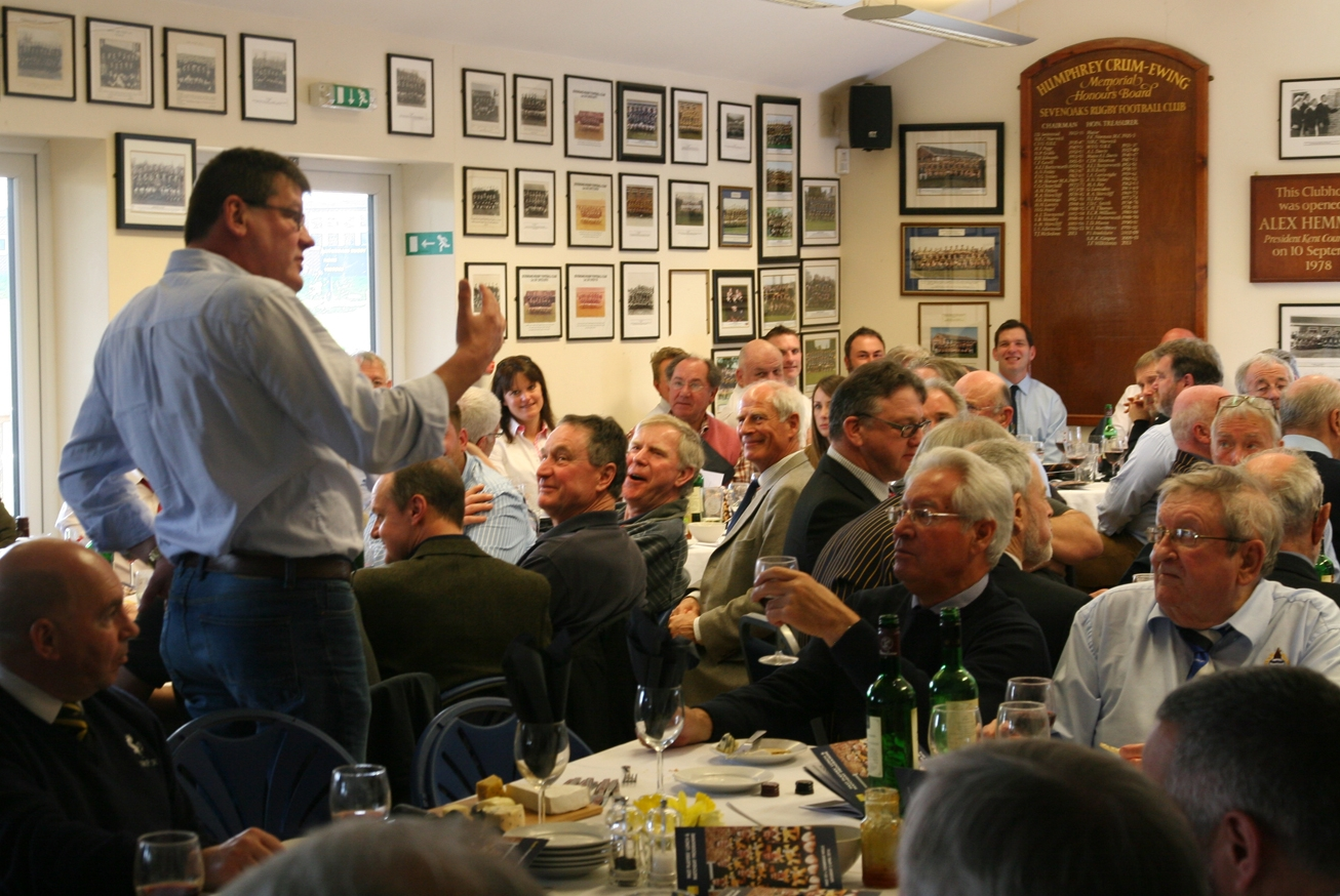 Past Players' lunch April 2016