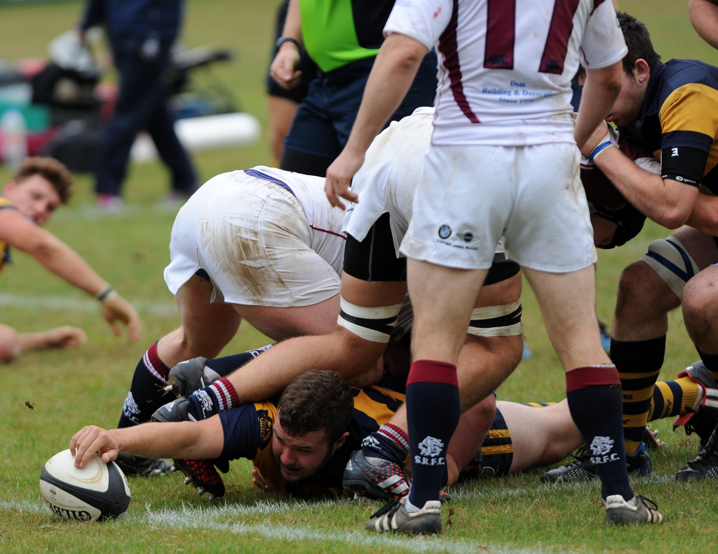 SEVENOAKS RUGBY 2ND XV VERSUS SIDCUP 17 SEPT 2016 Photos Credit: David Purday