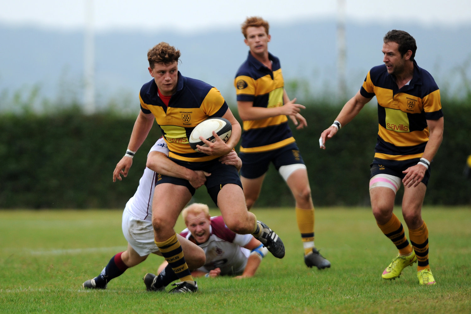 Both the 2nd XV and the 3rd XV posted a half century of points in their matches last weekend.Photo Credit: David Purday