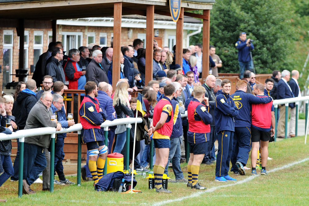 Get behind the lads! Both Sevenoaks 1st and 2nd XV's will be hoping for as much support as possible on Saturday.  Photo Credit: David Purday