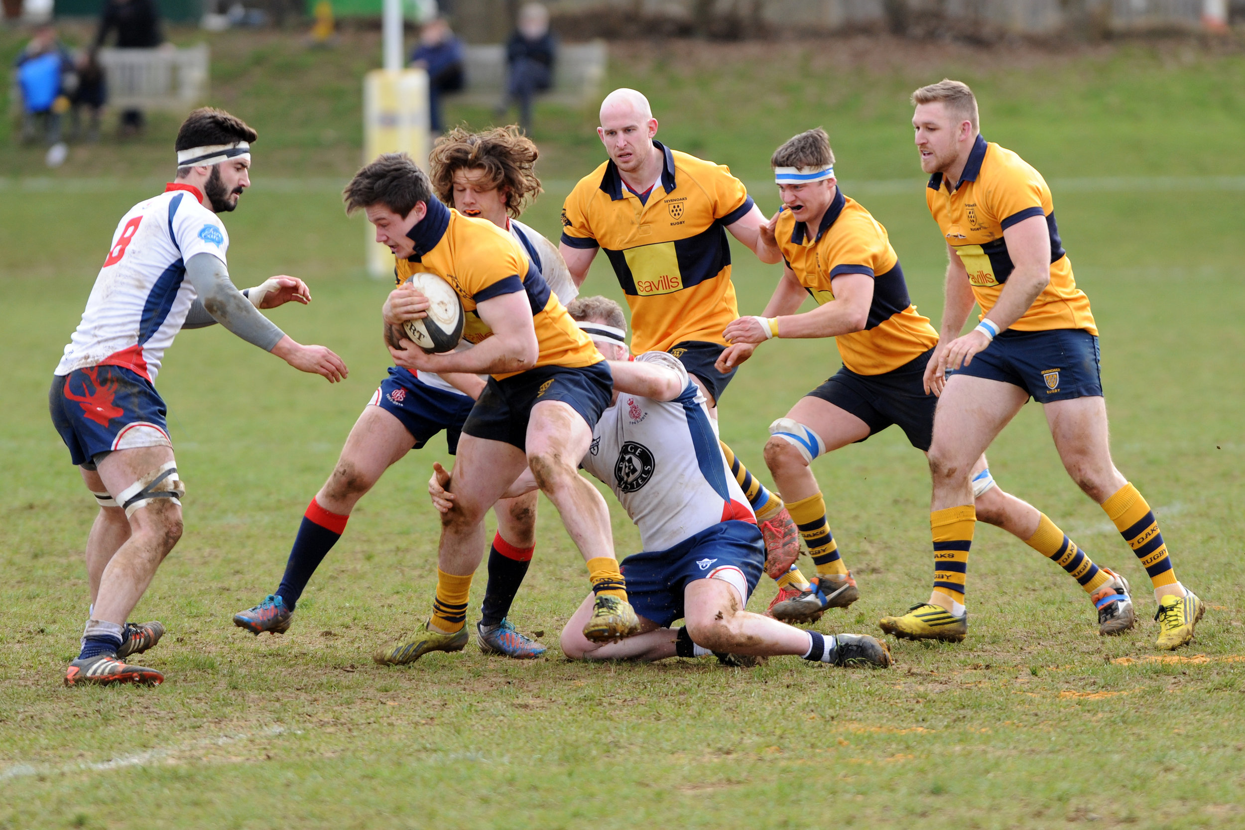 OAKS VERSUS CS RUGBY 1863 4 MARCH 2017 Photo credits: Dave Purday