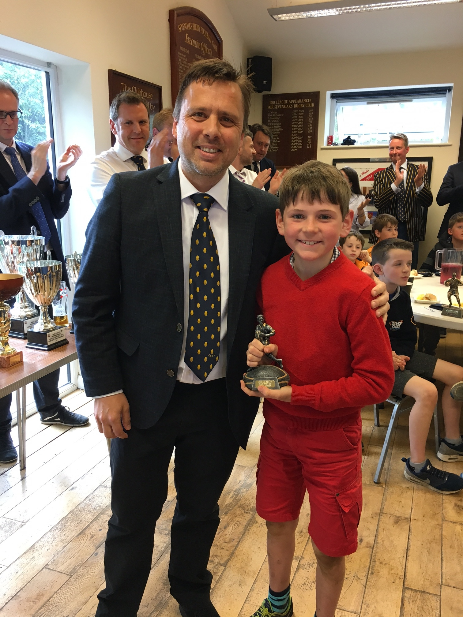 Most Improved of the Season - Xavier Prongue