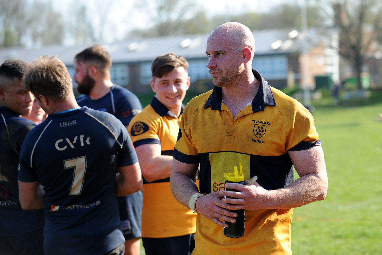 Leader of the Pack. Stuart Coleman will once again captain the 1st XV this year. Photo Credit: David Purday