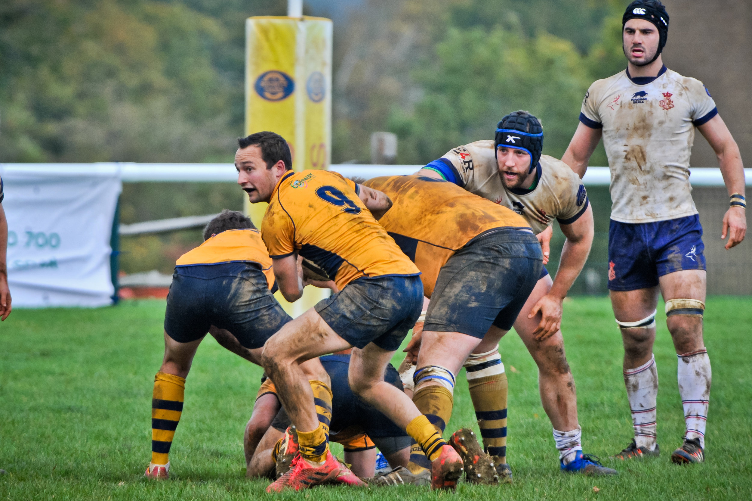 SEVENOAKS RUGBY V CS RUGBY 1863 21 OCT 2017 Photo credit: Dave Purday
