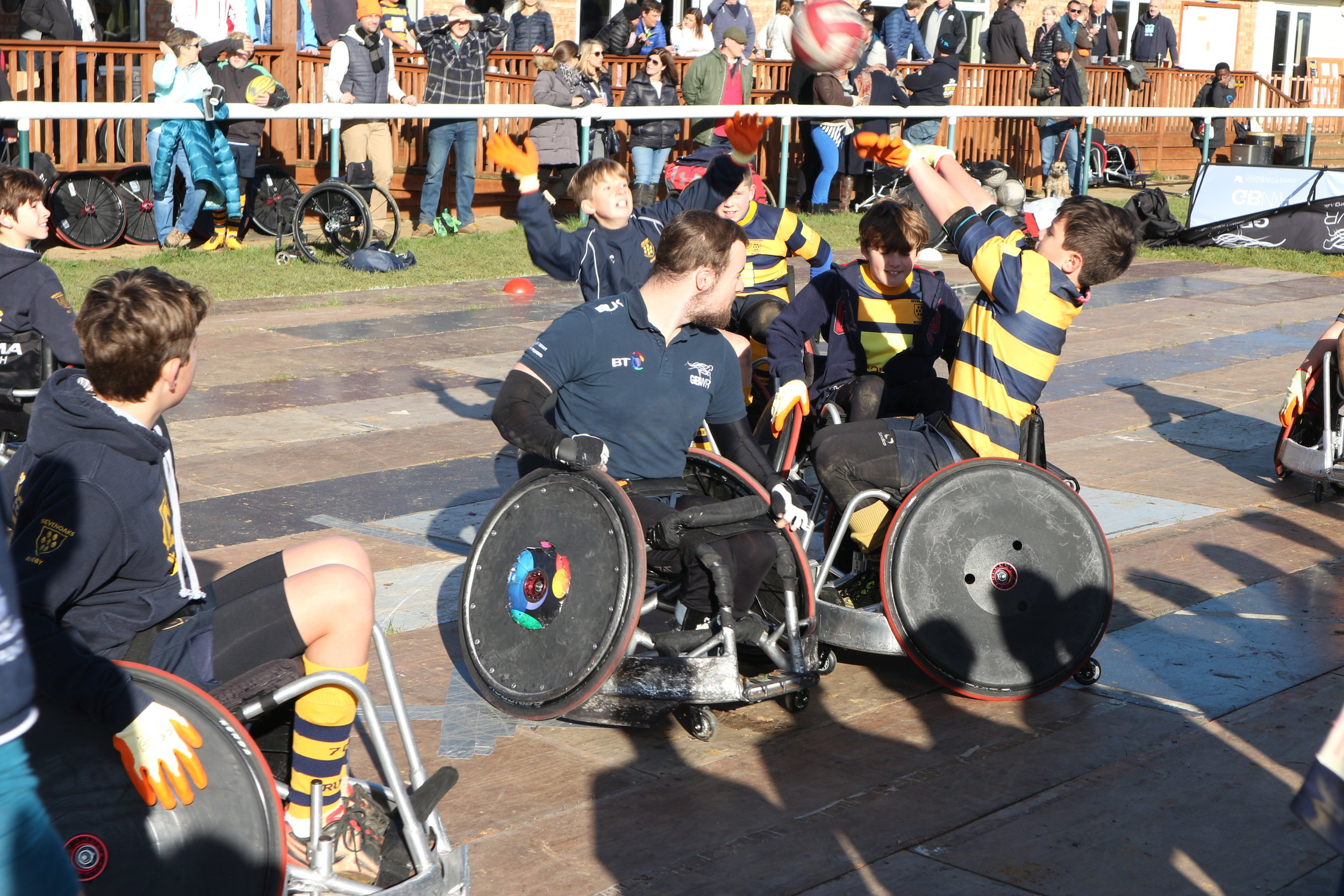 GB WHEELCHAIR RUGBY WEEKEND AT THE OAKS, 4 AND 5 NOV 2017 Photo credit: GBWR