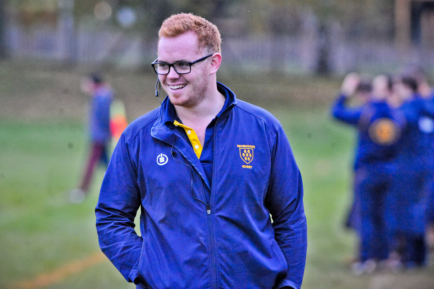 Happy Man. Head Coach Adam Bowman was pleased with his sides performance on Saturday. Photo Credit: David Purday