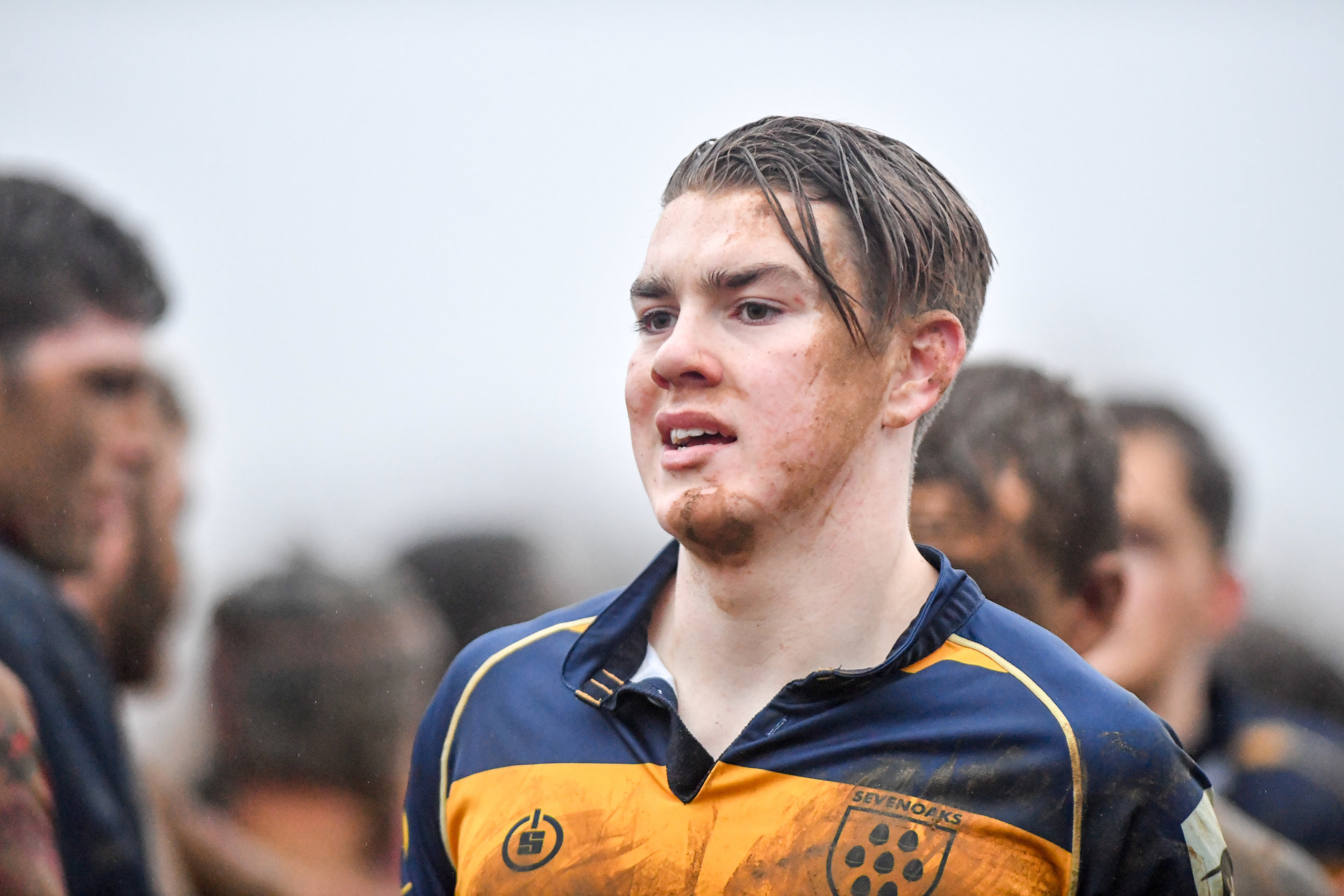 Oaks Academy star Charlie Corrigan came off the bench and had a hand in Oaks first try.  Photo Credit: David Purday