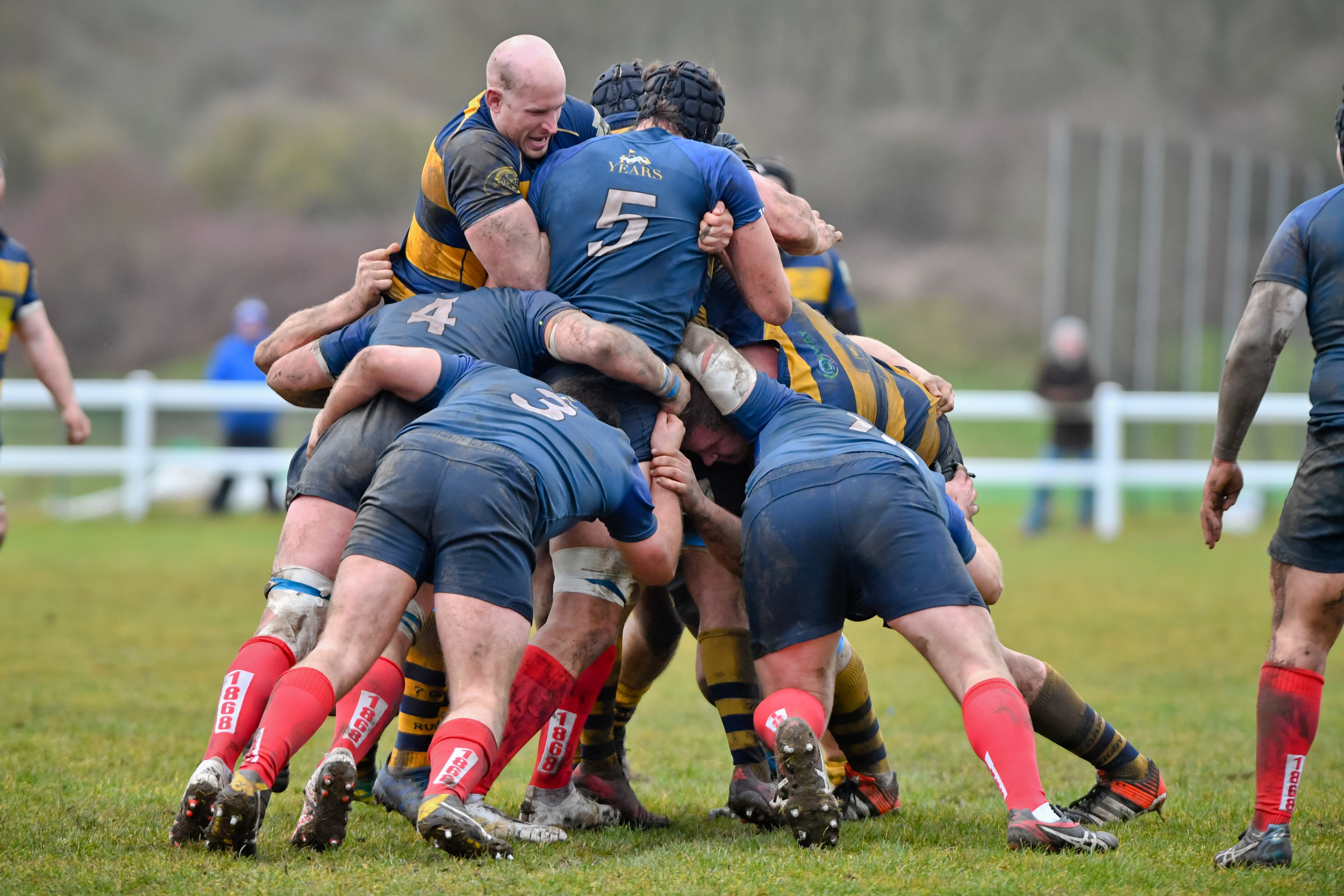 Oaks came out on top when they faced top of the table Brighton Blues two weeks ago, making it tight at the top. Photo Credit: David Purday