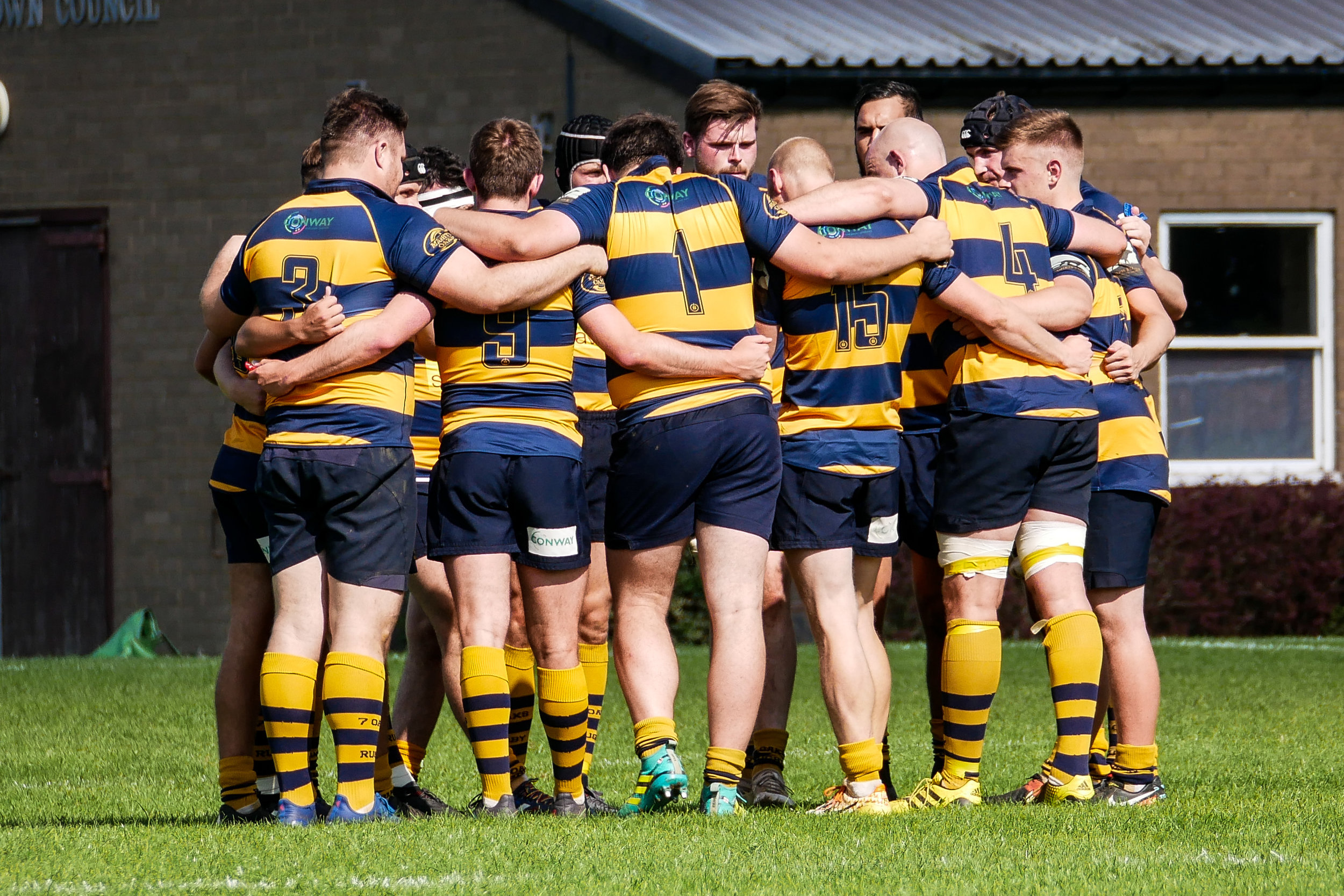 One Squad!  Oaks Head Coach has cited the unity and competition for places amongst the Senior Squad as the catalyst for success.  Photo Credit: David Purday