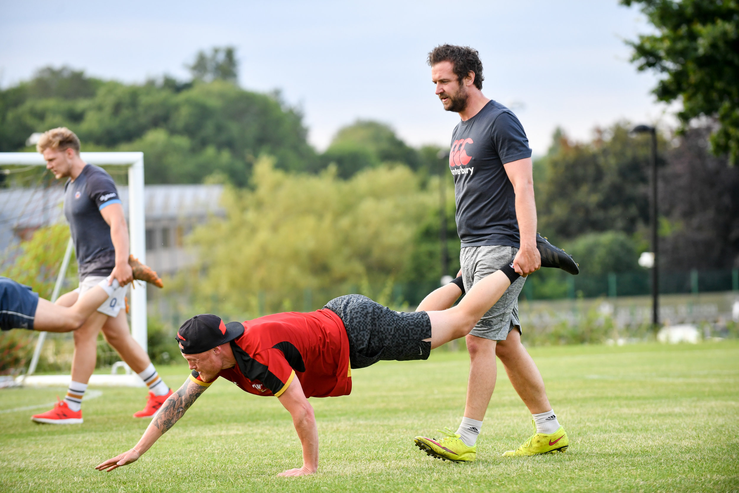 Oaks Senior Squad have been working hard in training. Photo Credit: David Purday
