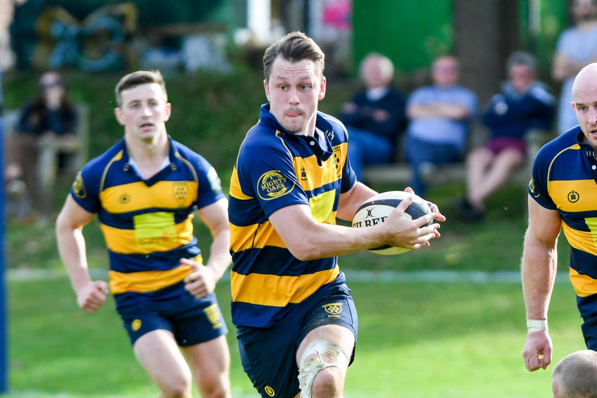 Oaks new 1st XV captain has seemingly won his fitness race in time for the start of the season. Photo credit: David Purday