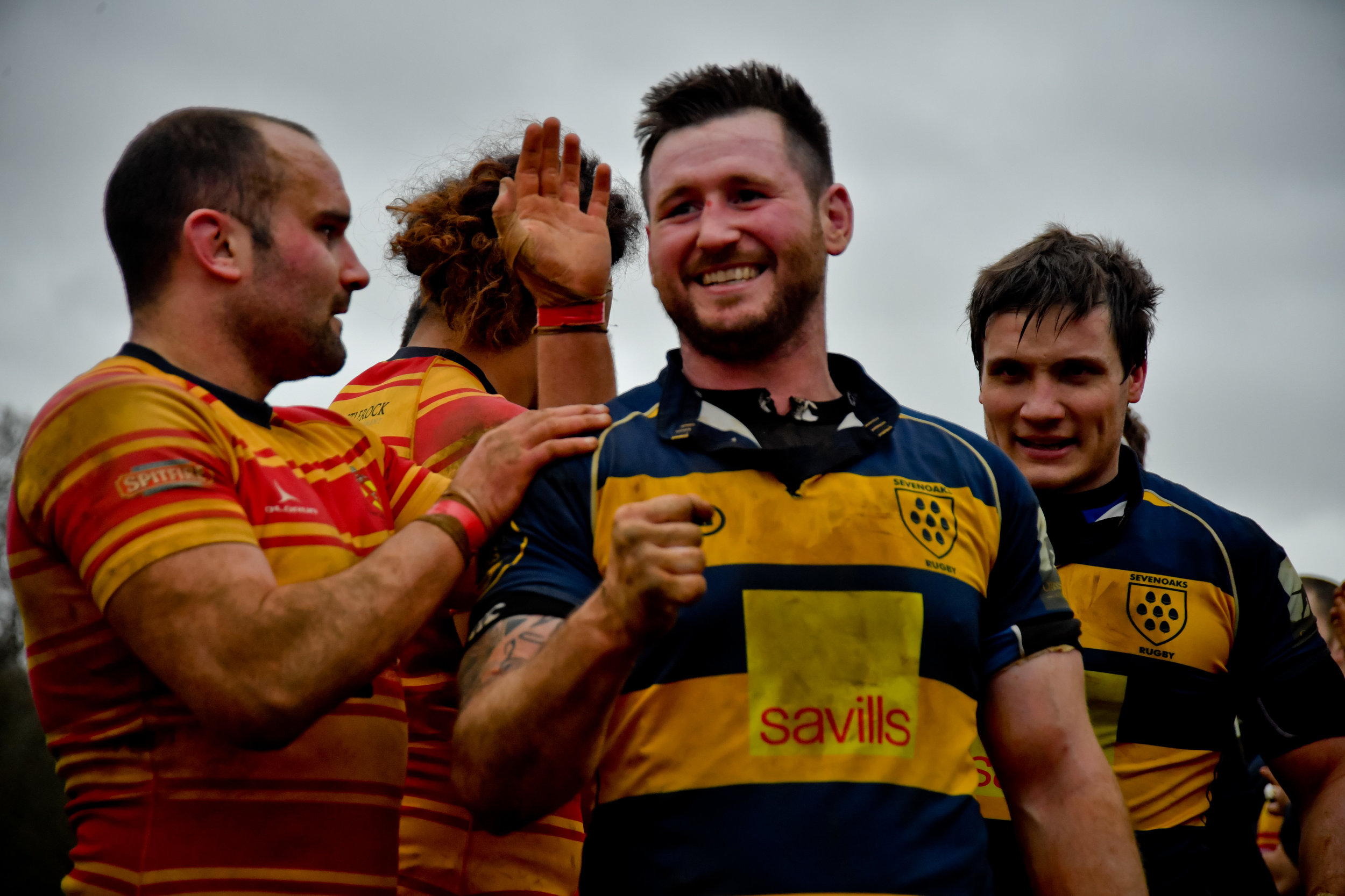 Oaks number 8 scored two tries in his sides victory.  Photo credit: David Purday