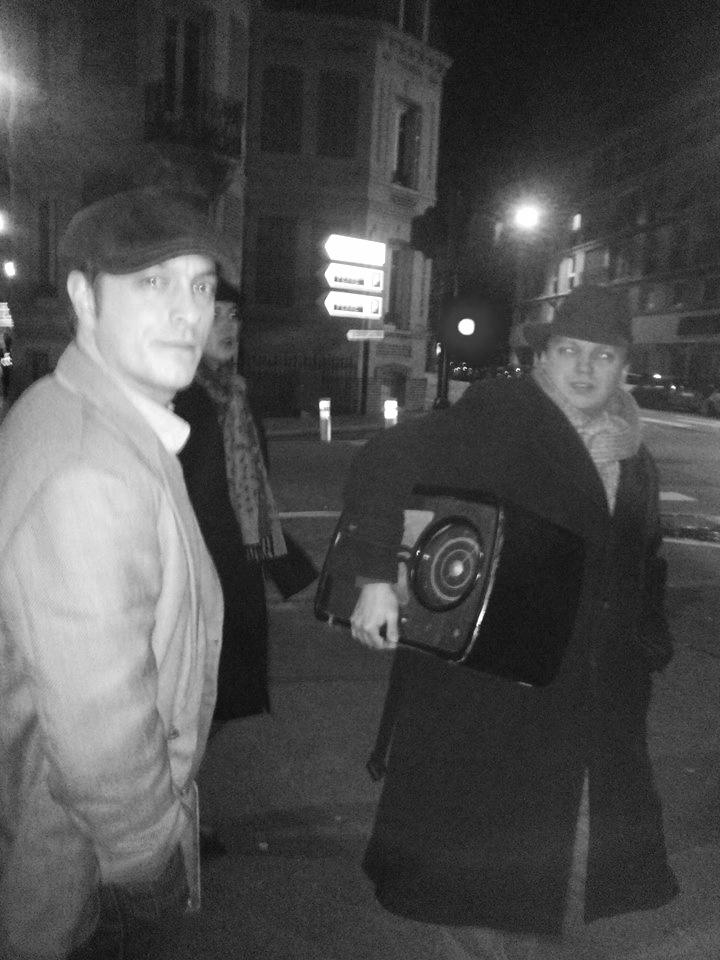 William et son ipod des années 40...