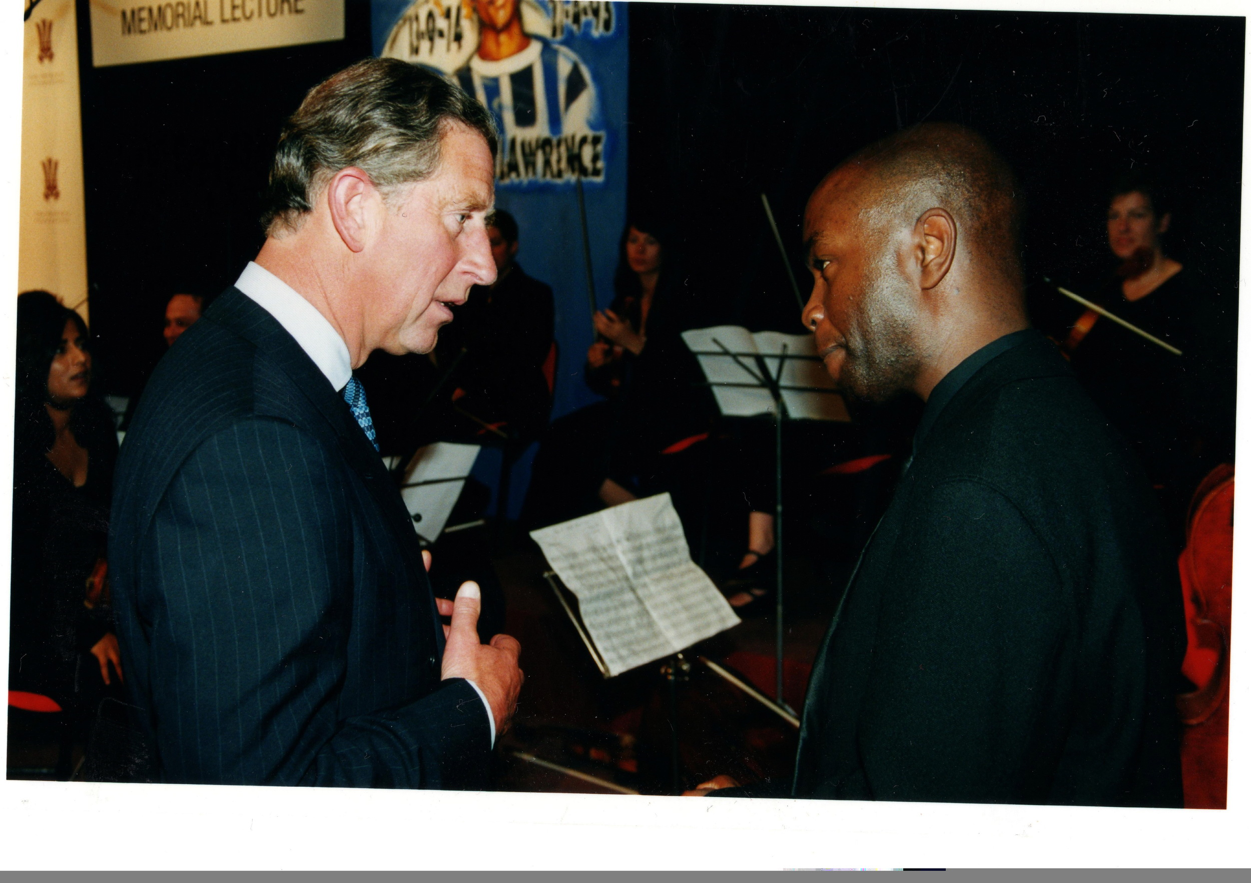 Meeting HRH Prince Charles at the Prince's Foundation