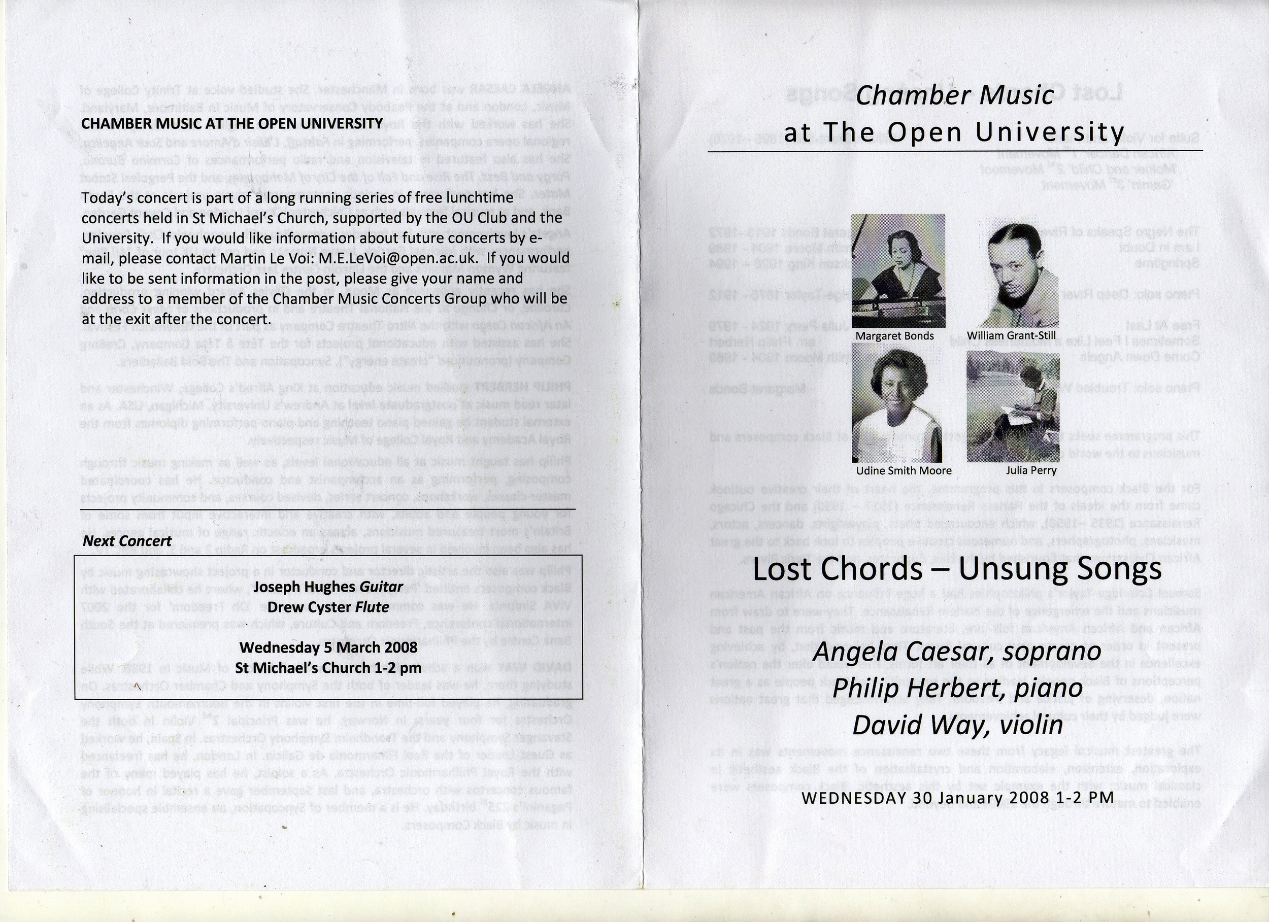 Lost Chords - Unsung Songs