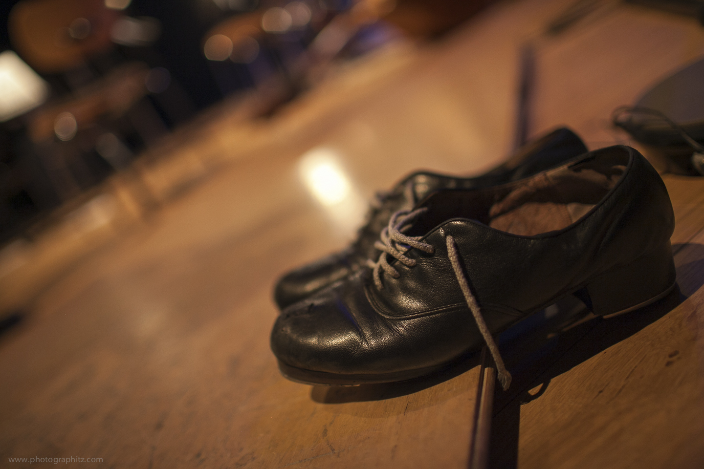 Lee's shoes part of the percussion section.jpg