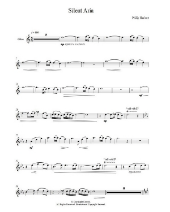Buy sheet music for Silent Aria from Sheet Music Direct