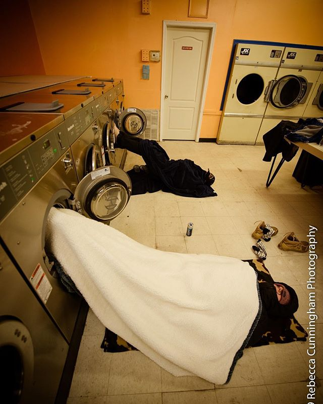 When people first hear that @freedomruck is a 105-mile walk, they often underestimate how physically taxing this challenge is, between the wear on the body and the fatigue from putting in work on little to no sleep. Above, our team props their aching feet up in dryers while catching a quick snooze on a laundromat floor before getting back out in the rain to keep going.  We do this not to call attention to ourselves, but to point to the sacrifice made by our military servicemen and women everyday. Our sacrifice pales in comparison to theirs, and we hope Freedom Ruck simply creates a moment for you to thank our military as we start this new year.  We'll reach Arlington National Cemetery late tonight - please keep following and we'll keep rucking! 🇺🇸🇺🇸🇺🇸 #freedomruck #ruckon #freedomruck2019 📸: @rebeccacunninghamphoto
