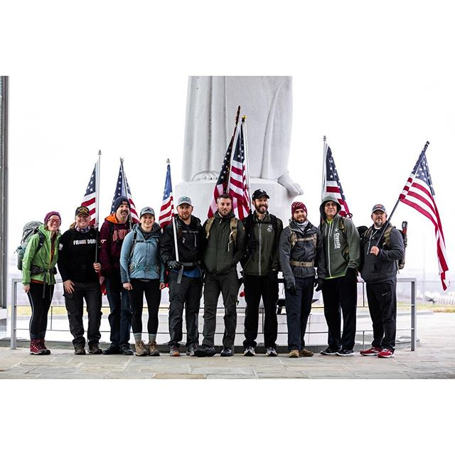 With Freedom Ruck 6 now in the books, we want to thank each and every member of our amazing team. Whether you rucked along side us, met us at a rest stop, sent encouraging words or followed along here — we are so grateful for the outpouring of support. Though the 105-mile journey is complete, you can still show support and give thanks to our military by purchasing Freedom Ruck gear or donating. All proceeds go to @navysealfoundation. Link in bio. 🇺🇸🇺🇸🇺🇸 #freedomruck2019 #freedomruck #ruckon 📸: @katemagee & @rebeccacunninghamphoto