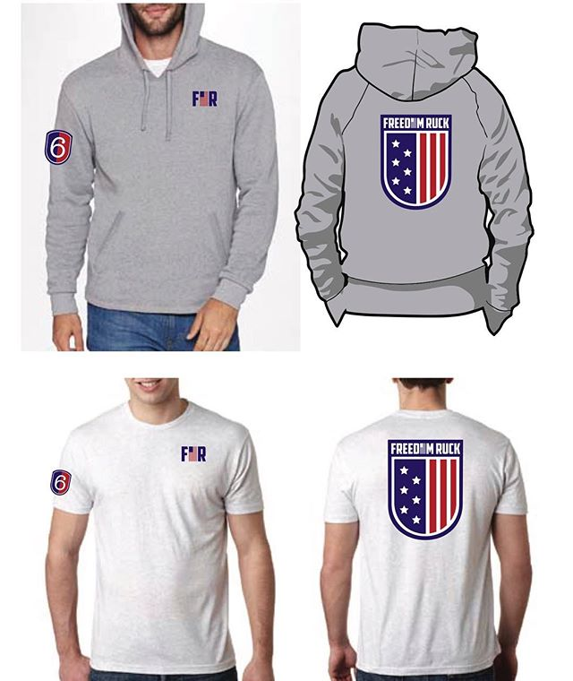 @freedomruck and @wisevc did it again 💪the 2019 @FreedomRuck 6 gear is still available for purchase 🔥be sure to check out our website to grab your's while supplies last 🇺🇸 * See link in our bio to purchase * * Inventory is limited *