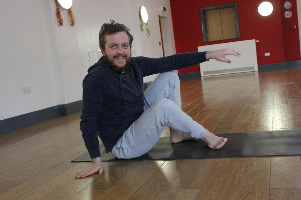 ross dixon - senior yoga teacher