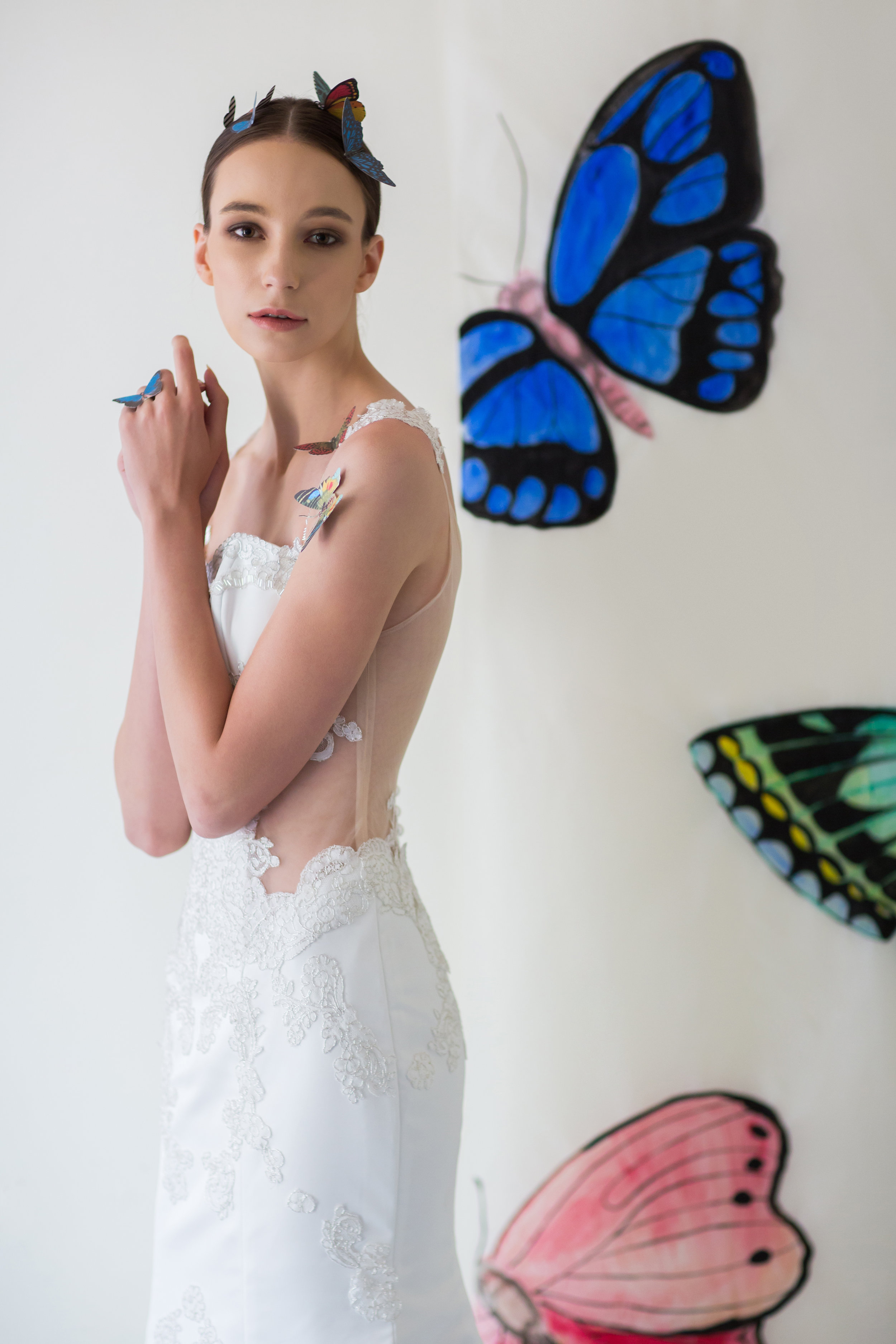 """""""Butterfly Whisperer"""" - A collection by Amanda Lee Weddings"""